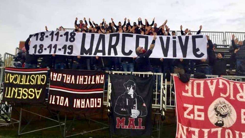 Piacenza - Un anno fa ci lasciò Marco Reboli, lo salutarono in tutti gli stadi d'Italia - SportPiacenza